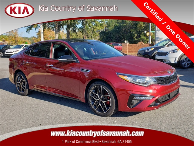Certified Pre-Owned 2019 Kia Optima SX