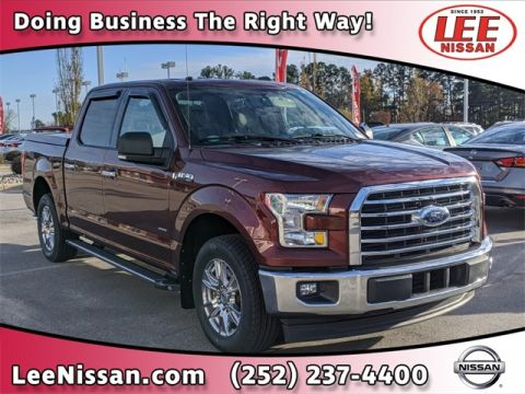Pre-Owned 2017 Ford F-150 XLT CREW CAB