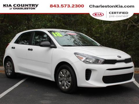 Certified Pre-Owned 2018 Kia Rio 5-door LX Auto