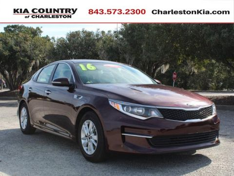 Certified Pre-Owned 2016 Kia Optima 4dr Sdn LX