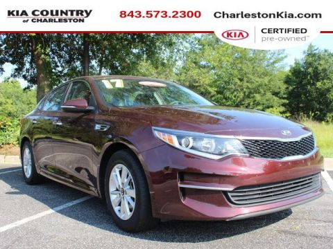 Certified Pre-Owned 2017 Kia Optima LX Auto