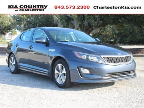 Certified Pre-Owned 2014 Kia Optima Hybrid 4dr Sdn LX